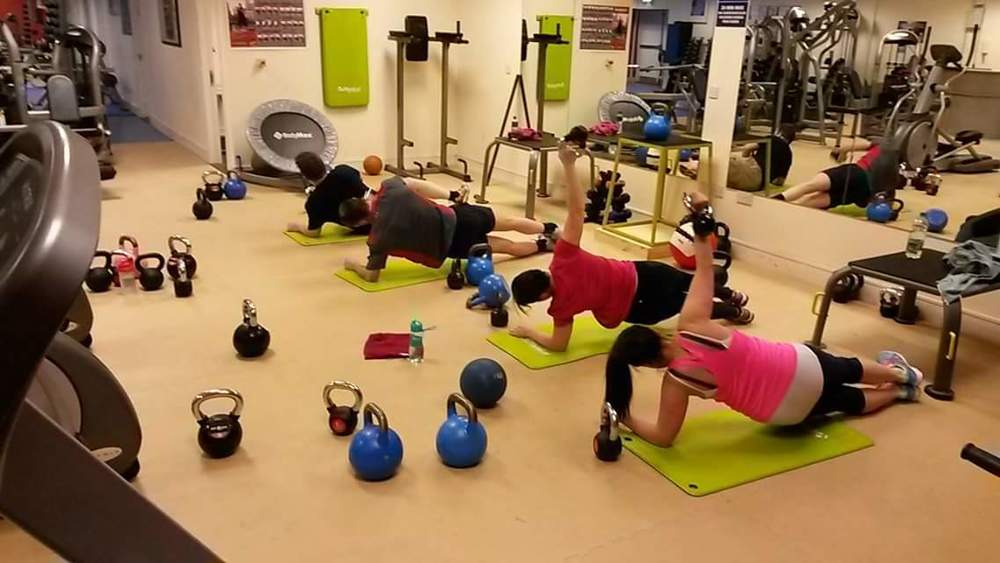 Group exercise class Dublin