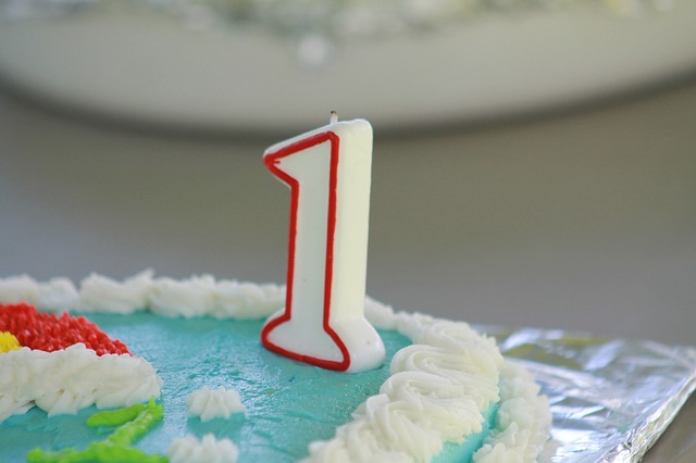 Happy first birthday to the blog!