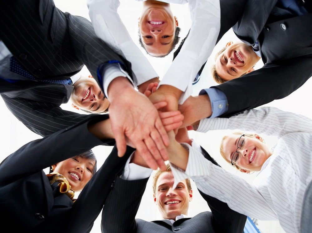 Teamwork is a part of workplace wellbeing