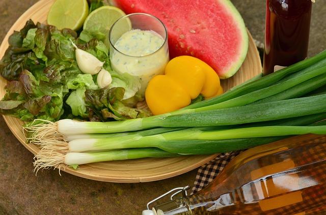 healthy nutritous food