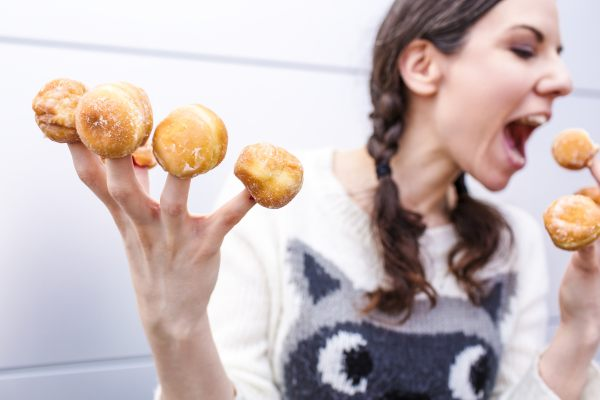 avoid sugary snacks and junk food while at work