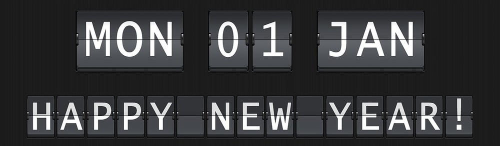 2018 new years resolutions list