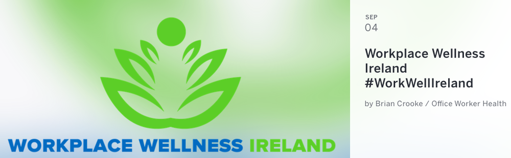 Workplace Wellness Ireland Meet Up