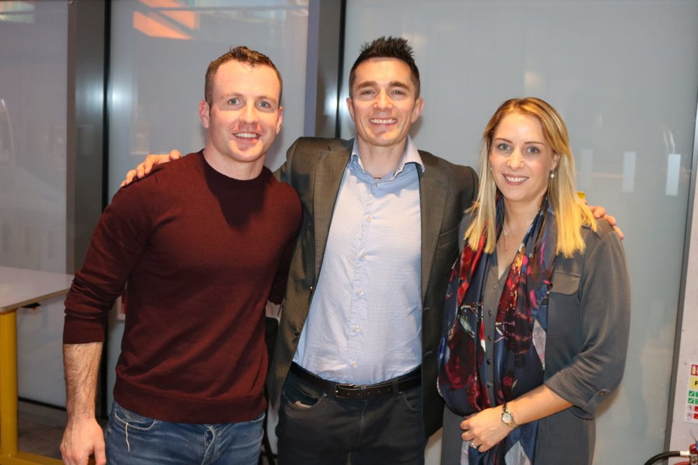 Workplace Wellness Ireland with Pat Divilly and Aoife Ni Mhurchu