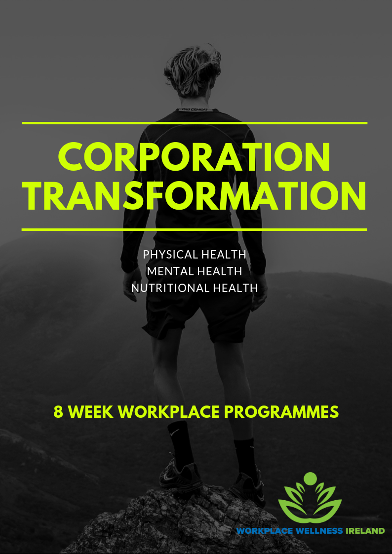 Workplace wellness activity ideas Dublin