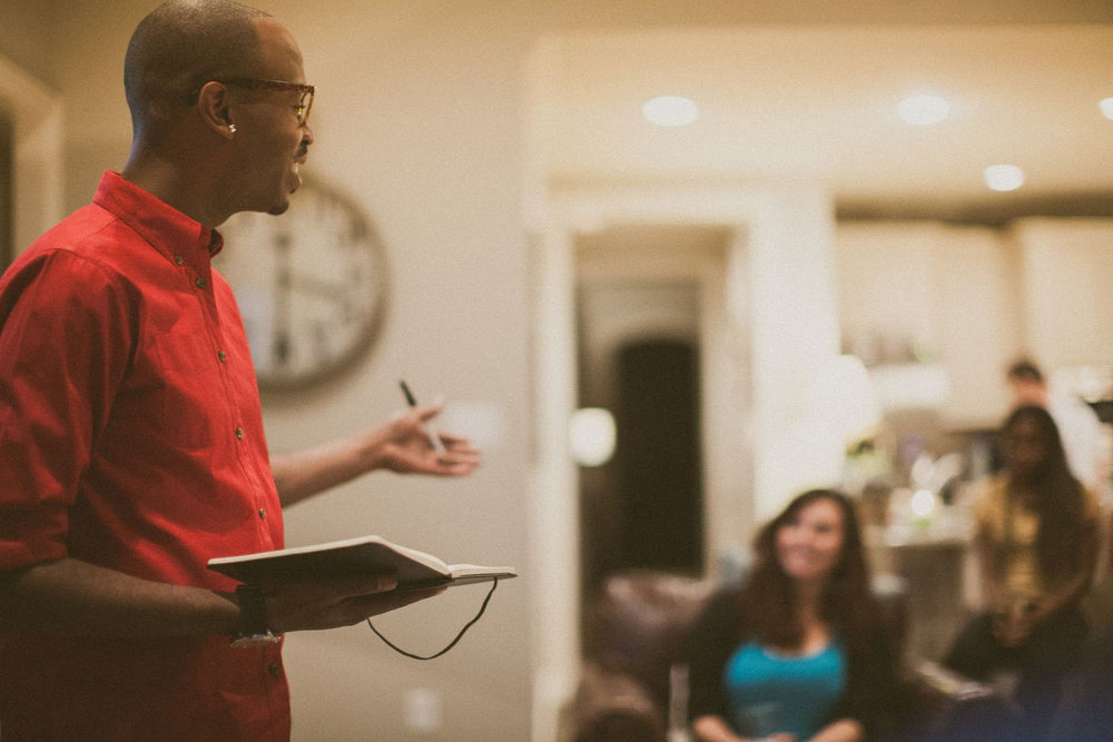 """Do life with your neighbors - We are all called to make disciples and be """"fishers of men."""" Start a small group of your own and see how God moves through these intimate moments with neighbors and even strangers who become friends.→ Get started"""