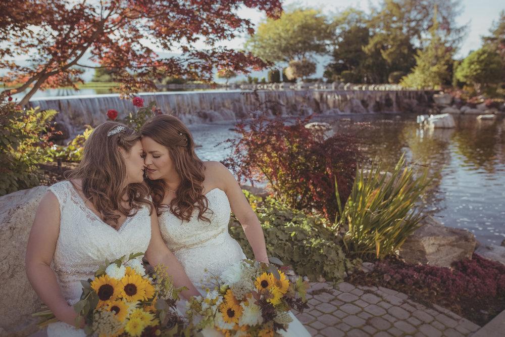 Lesbian Edmonton Wedding