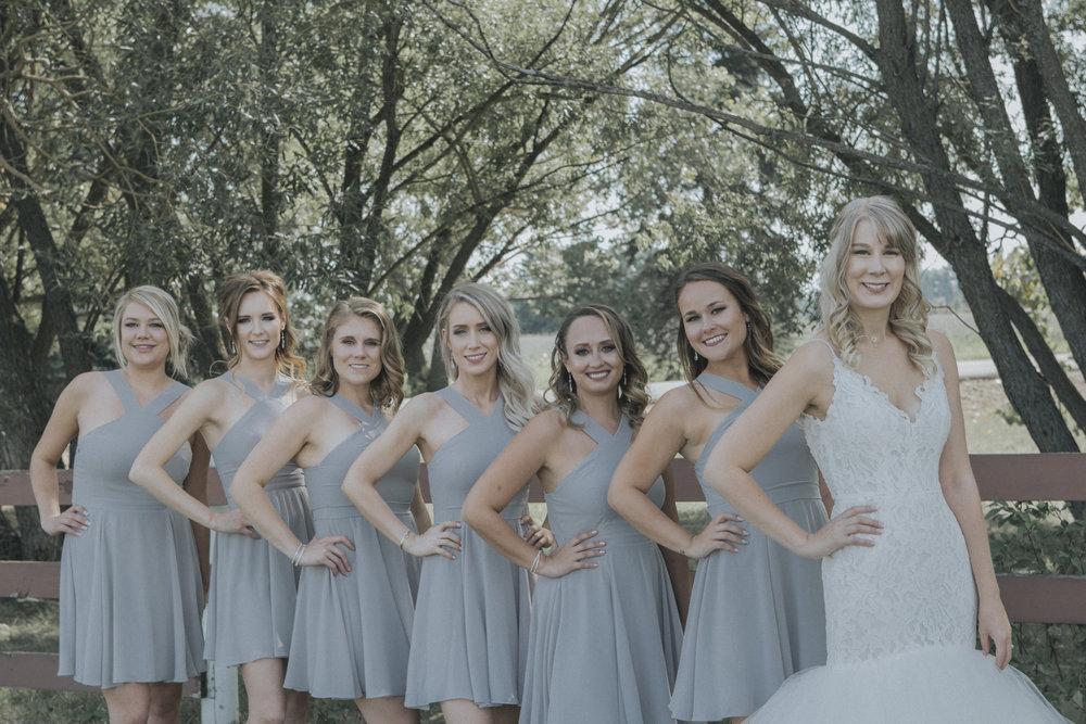 Bridesmaids Edmonton