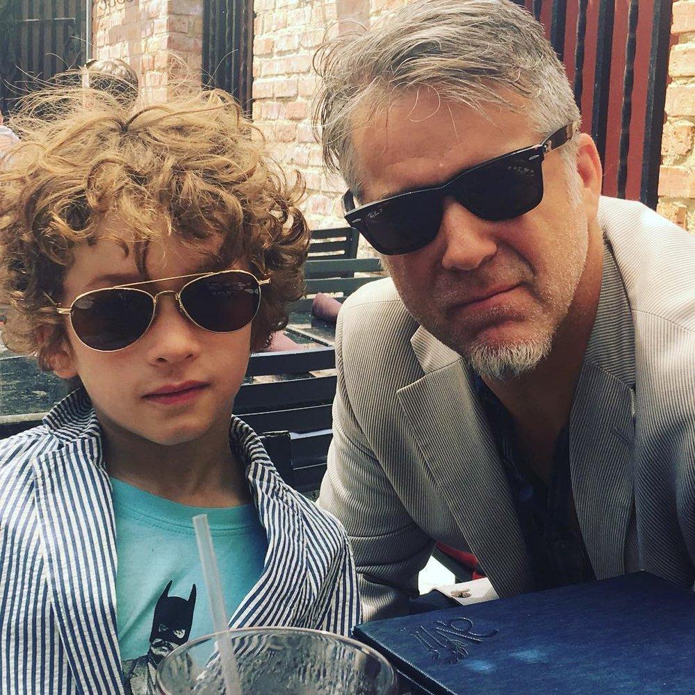 Ian and James Gustin