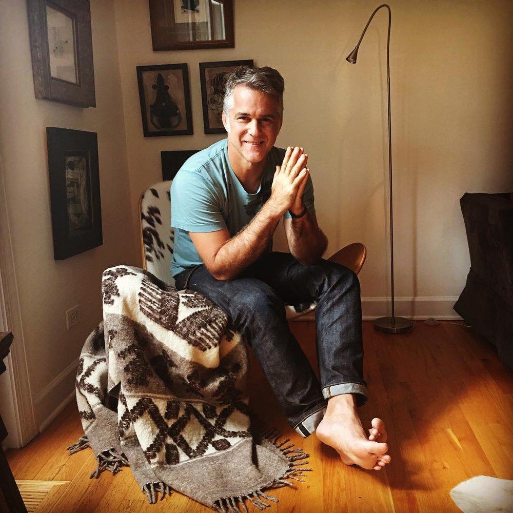 James Gustin at home