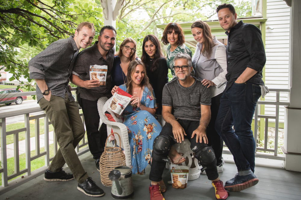 Crew shot from the Haylie Duff Mrs. Thinsters Shoot. Film and Photo team.