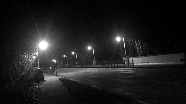 Midnight walks getting me back to me. I'm on my way.