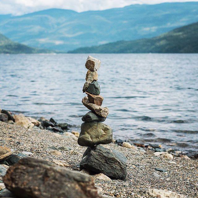 Already missing #summer on the #Shuswap just #stonestacking the days away. . . . . #yyc #yycphotographer #bc #summervacation #art #design #britishcolumbia #lakelife #stones #nature #naturephotography #travelbc #canada #lake #lakeshore #summersover