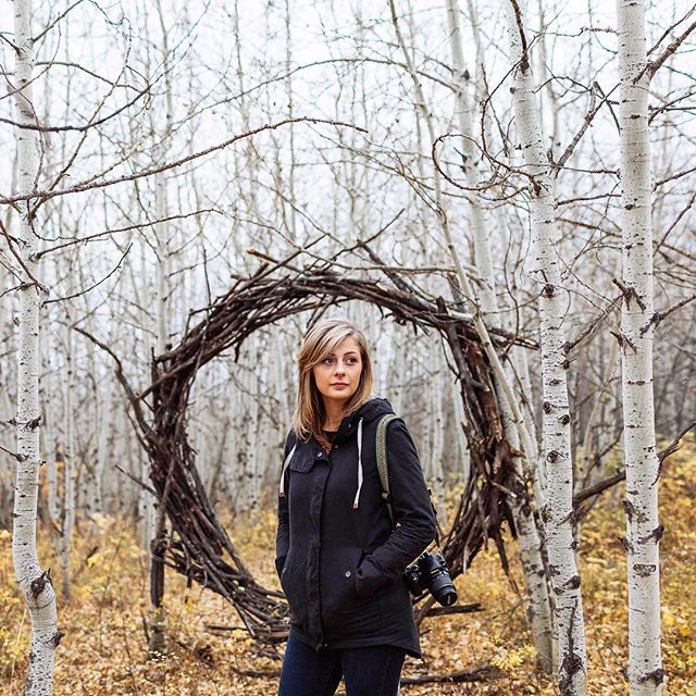 Was hiking around #PaskapooSlopes and remembered this portrait of @nat403 from a few Autumns ago of her and her #installation, 47 520. . . .  #yyc #yycphotographer #yycarts #design #art #natalielauchlan #autumn #fall #installationart #photo #yycphotography  #postthepeople #agameofportraits #HypeBeast  #ig_mood #featuredpalette #makeportraits #girl #humaneffect #featuremeofh #ig_mood #MoodyGrams #sombresociety #sombrescapes #vzcomood #main_vision #Soft_Vision #exklusive_shot  #explorealberta