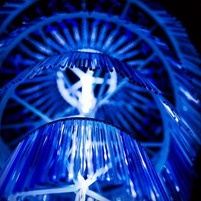 Close up of the piece Chopsticks = Chandelier by @iam.t.sang as part of the @downtowncalgary light festival #yycglow . . . . #contemporaryart #modern #installation #sculpture #contemporary #chandelier #yycarts #fineart #streetart #yyc #creative #abstractart #instaart #modernart #detail #concept #arte #kunst #iamdowntown #captureyyc #calgaryisbeautiful #yycphotographer #calgaryphotographer #sharecalgary #calgarylife