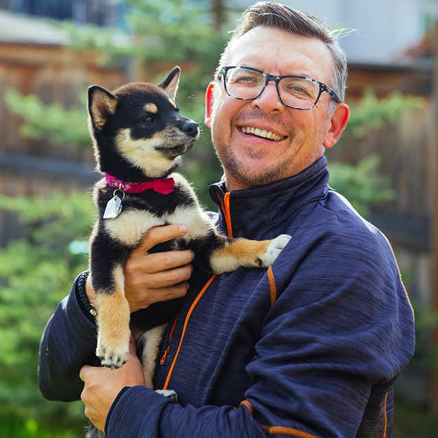 "Kokoro, Theo Fleury's shiba pup, is his ""new daily reminder of what life's all about"". Read more about his story in the @calgaryherald (link in bio) and check out his foundation @breakingfreefoundation . . . .  #instagramdogs #petstagram #dogs_of_instagram #puppylove #weeklyfluff #ilovemydog #doglovers #dogoftheday #HypeBeast #vscoportrait #ig_mood #discoverportrait #portraitphotography #profile_vision #bleachmyfilm #postmoreportraits #portraitpage #igpodium_portraits #portraiture #captureyyc #calgaryisbeautiful #yycphotographer #calgaryphotographer #sharecalgary #canonphotos #canoneos  #canonphotographer"