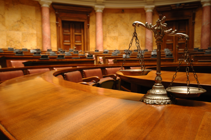 who are the main judicial officials in a wake county courtroom