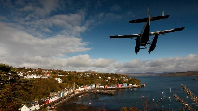 Landing in Tobermory