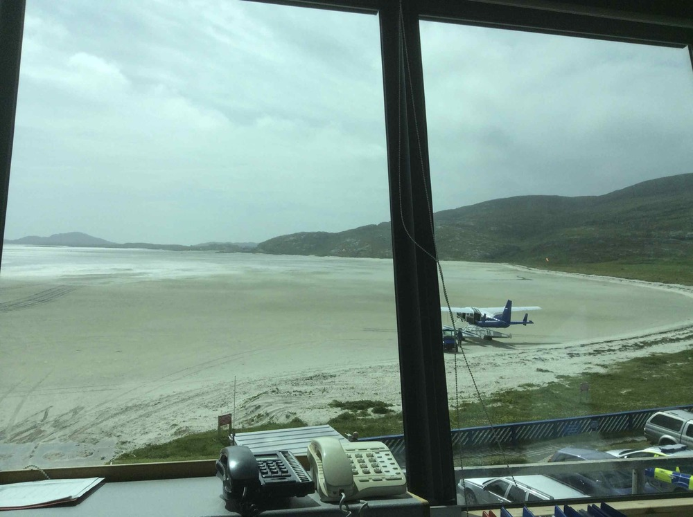 Barra Beach Control Tower