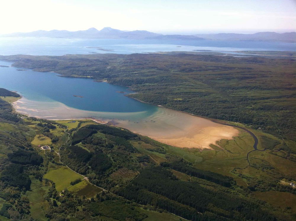 Loch Caolisport, Kintyre Penninsula