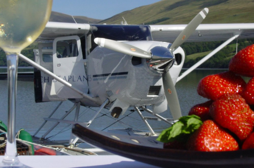 FLY TO LUNCH - * 35-40 MINUTE FLIGHT TIME * FLY OVER 70 MILES* TWO HOURS FOR LUNCH* AVAILABLE ON WEEKDAYS ONLY* DESTINATION LOCH VENACHAR