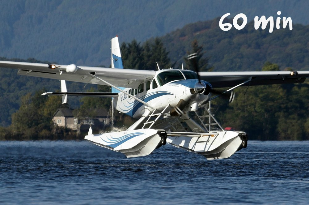 - BREATHTAKING FLIGHTS OVER THE MAGNIFICENT LOCH LOMOND NATIONAL PARK - VIEW MAP* UNFORGETTABLE 60 MINUTE EXPERIENCE WITH 50 MINUTES IN FLIGHT -FLY OVER 100 MILES *WINDOW SEAT : IN-FLIGHT COMMENTARY : POST FLIGHT GLASS OF PROSECCO :MAP OF ROUTE FLOWN