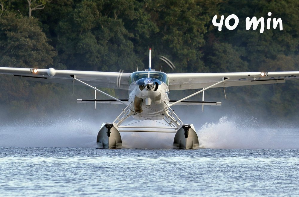 DISCOVERY TOURS - BREATHTAKING FLIGHTS OVER THE MAGNIFICENT LOCH LOMOND NATIONAL PARK - VIEW MAP* UNFORGETTABLE 40 MINUTE EXPERIENCE WITH 30 MINUTES IN FLIGHT -FLY OVER 60 MILES *WINDOW SEAT : IN-FLIGHT COMMENTARY : POST FLIGHT GLASS OF PROSECCO :MAP OF ROUTE FLOWN