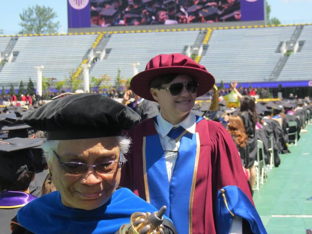 أعضاء المجلس العلمي بجامعة واشنطن امريكا سياتل
