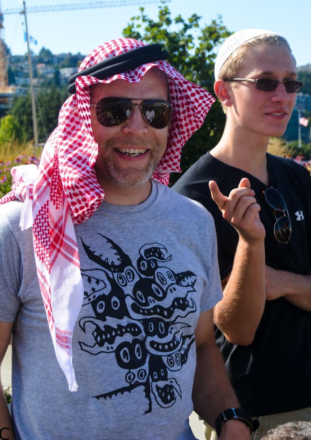 مشاركة الاجانب لحفلالعيد لعام ٢٠١٥