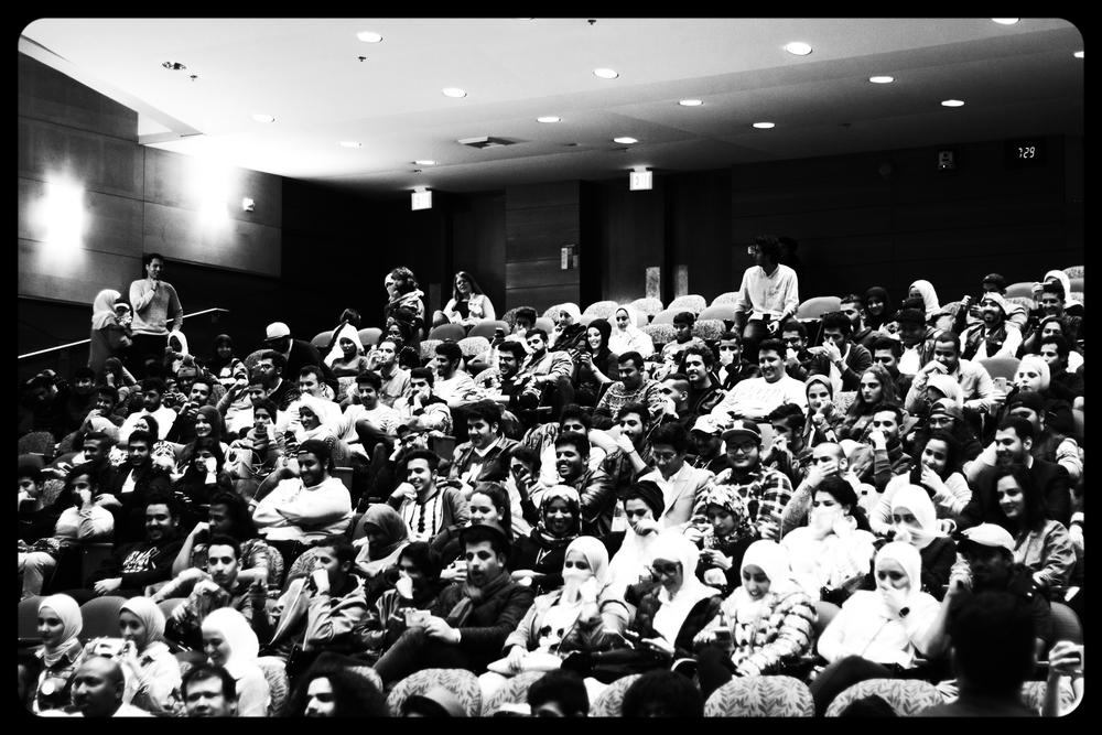 الحضور الكرام
