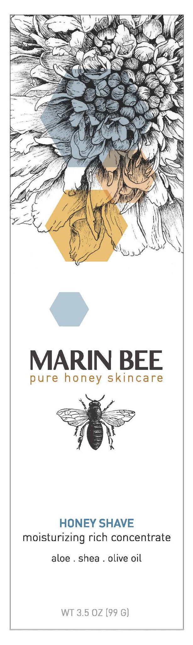 Marin Bee Honey Shave