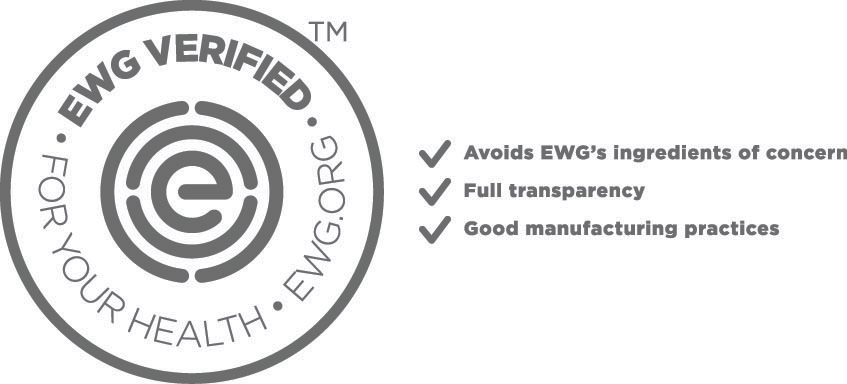 Our Detox Masque is EWG VERIFIED™. It meets EWG's strictest criteria for transparency and health.