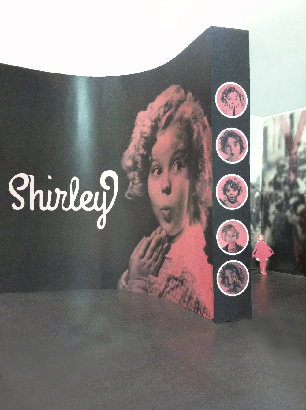 SHIRLEY TEMPLE MAGAZINE + EXHIBITION MODEL