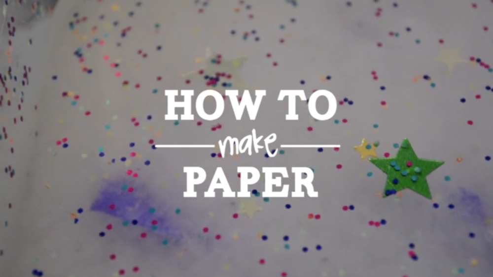 HOW TO MAKE PAPER VIDEO