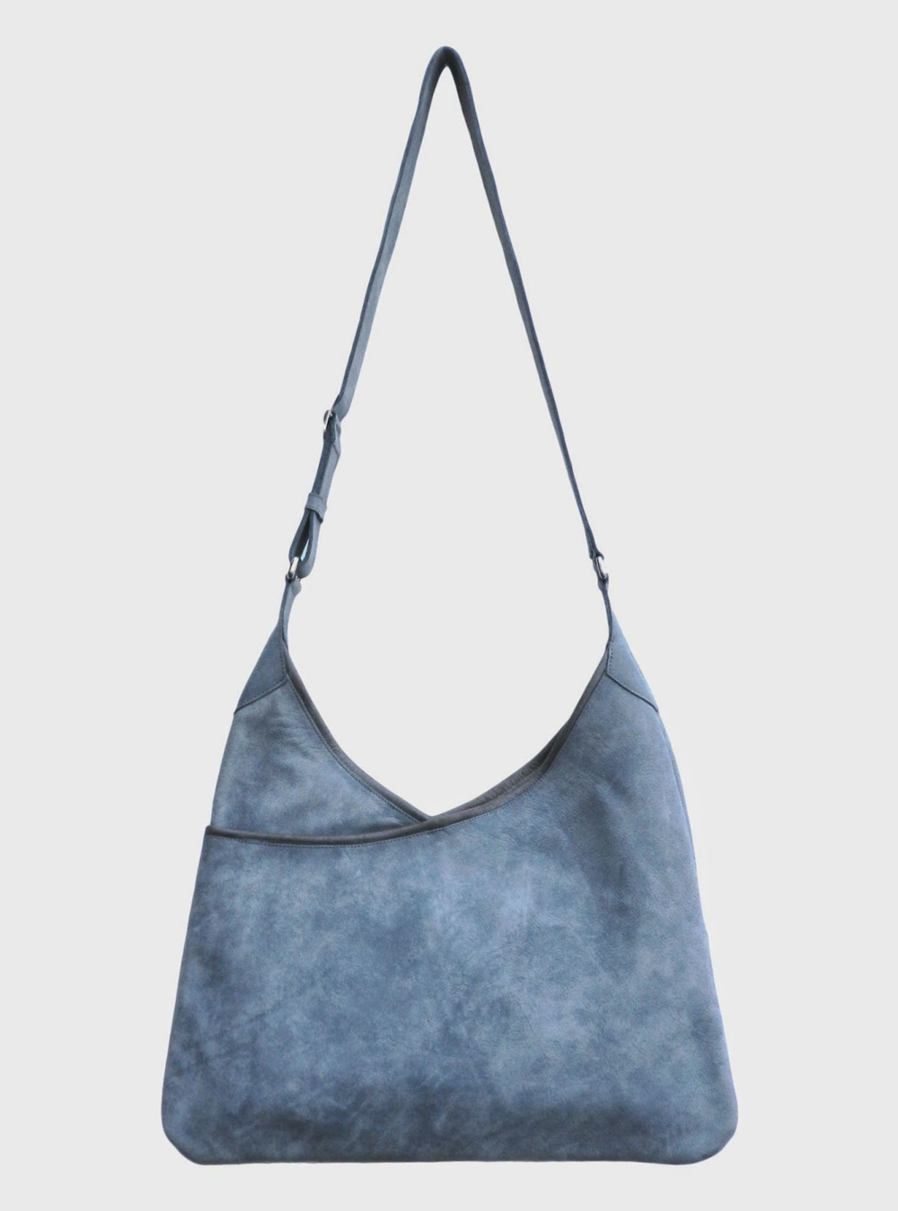 Lily and Lola 'Lisa' Blue Grey Leather