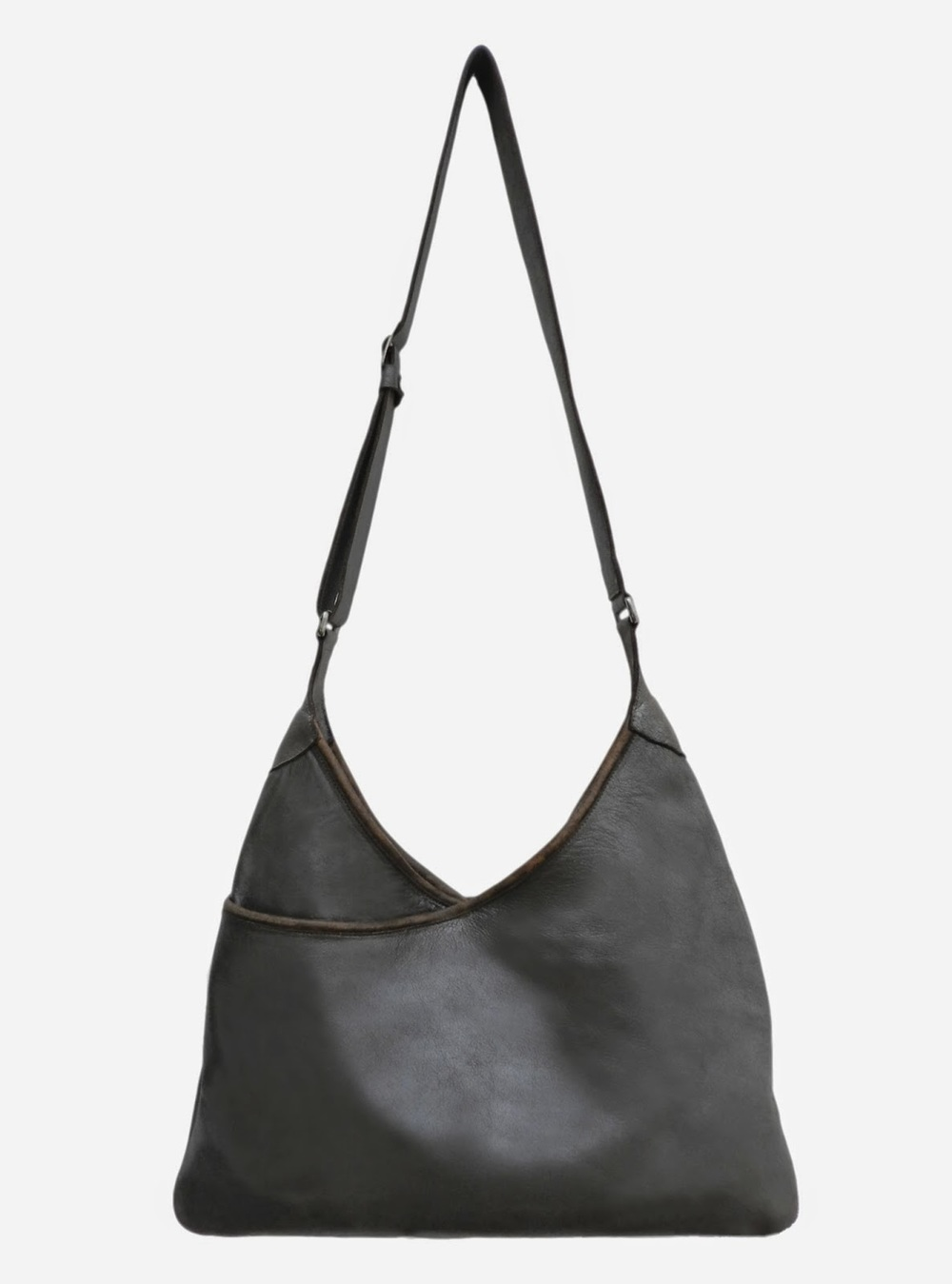 Lily and Lola 'Lisa' Metallic Taupe Leather