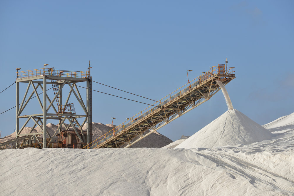 Rock Salt - Of course we have rock salt!  From our docks to your bin, we have you covered.