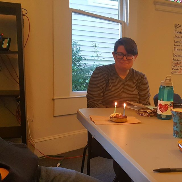 We celebrate 2nd year Road Fellow, Lizzy, on her Bitthday!