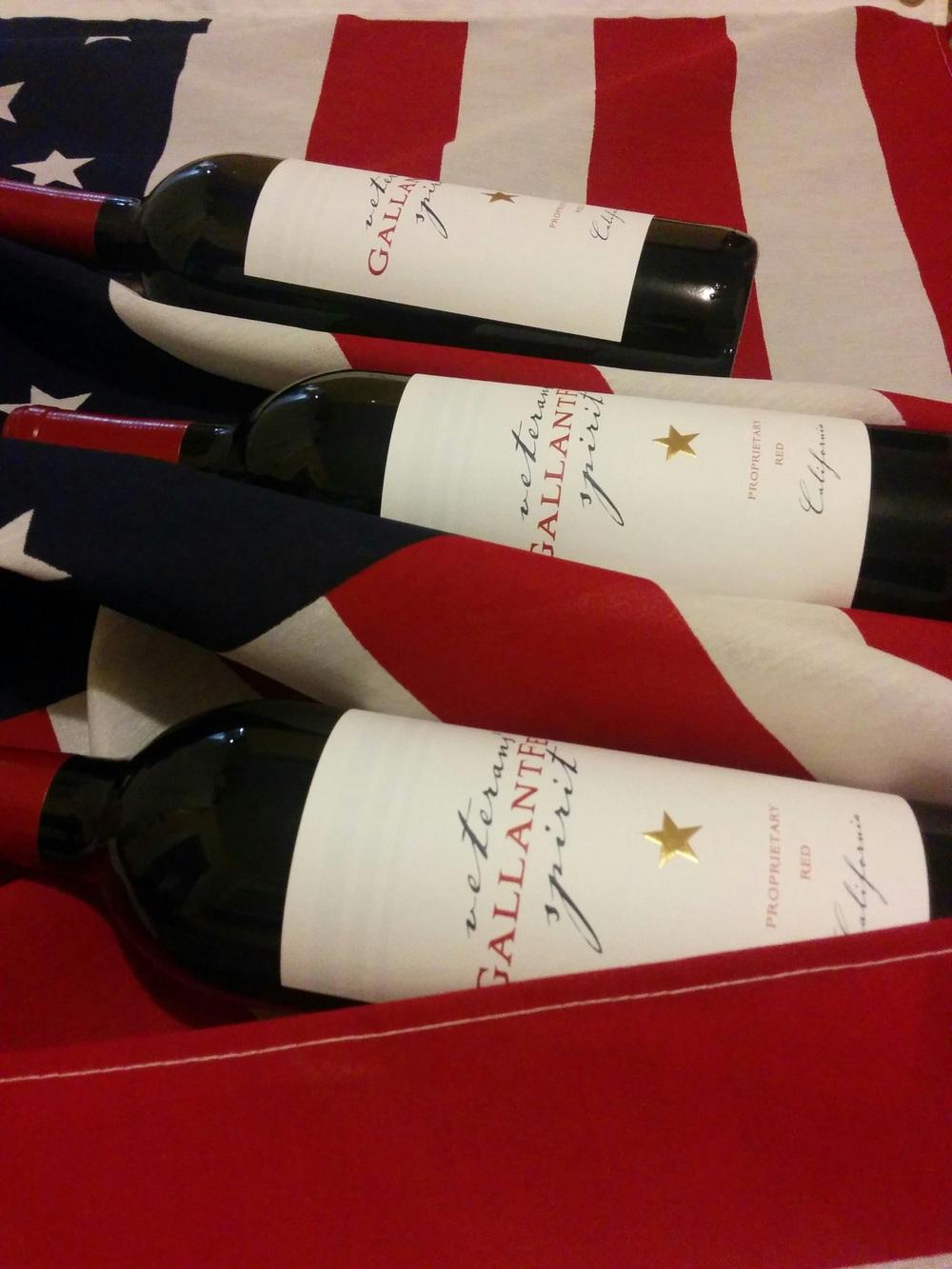 Gallant Few Wine and Flag