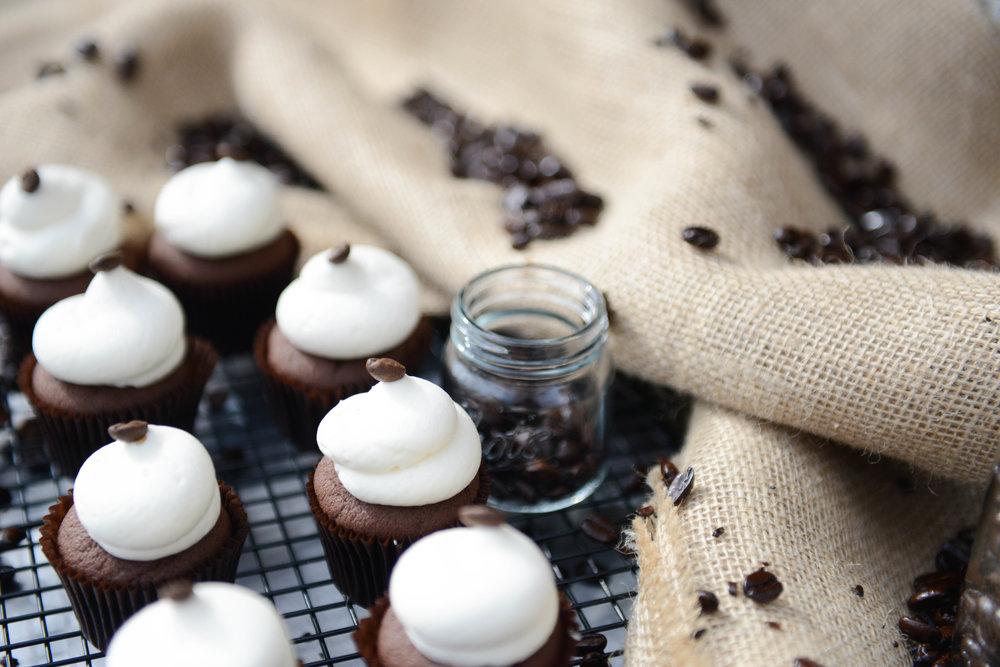 IRISH COFFEE | WHISKEY CHOCOLATE CAKE + IRISH CREAM BUTTERCREAM