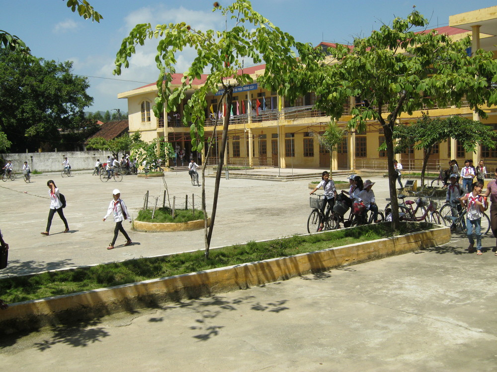 Public school we visited outside Hanoi.