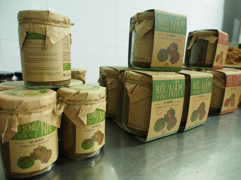 Van's star product: Mushroom Floss