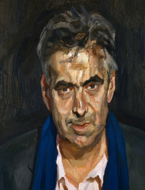 Man With A Blue Scarf, 2004