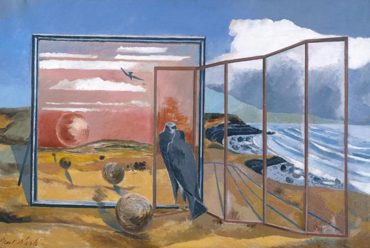 Paul Nash, Landscape From a Dream 1936