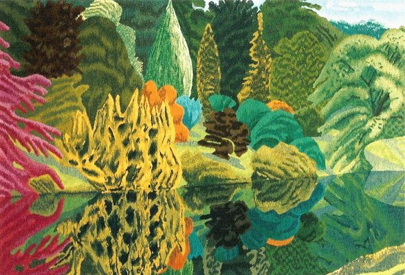 Stourhead, by Adrian Berg 1982