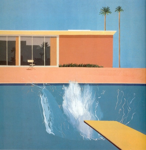Bigger Splash, David Hockney 1967