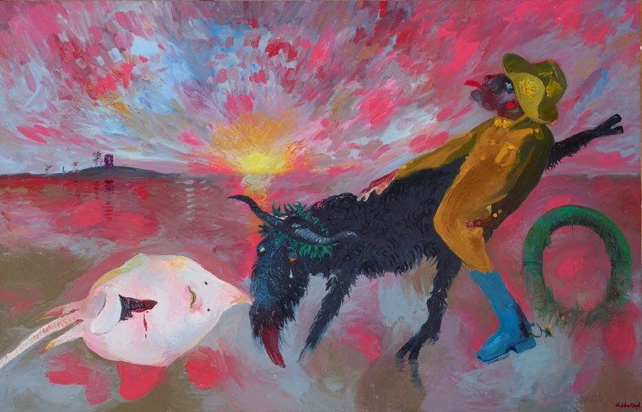 The Australian Scapegoat, by Arthur Boyd 1987