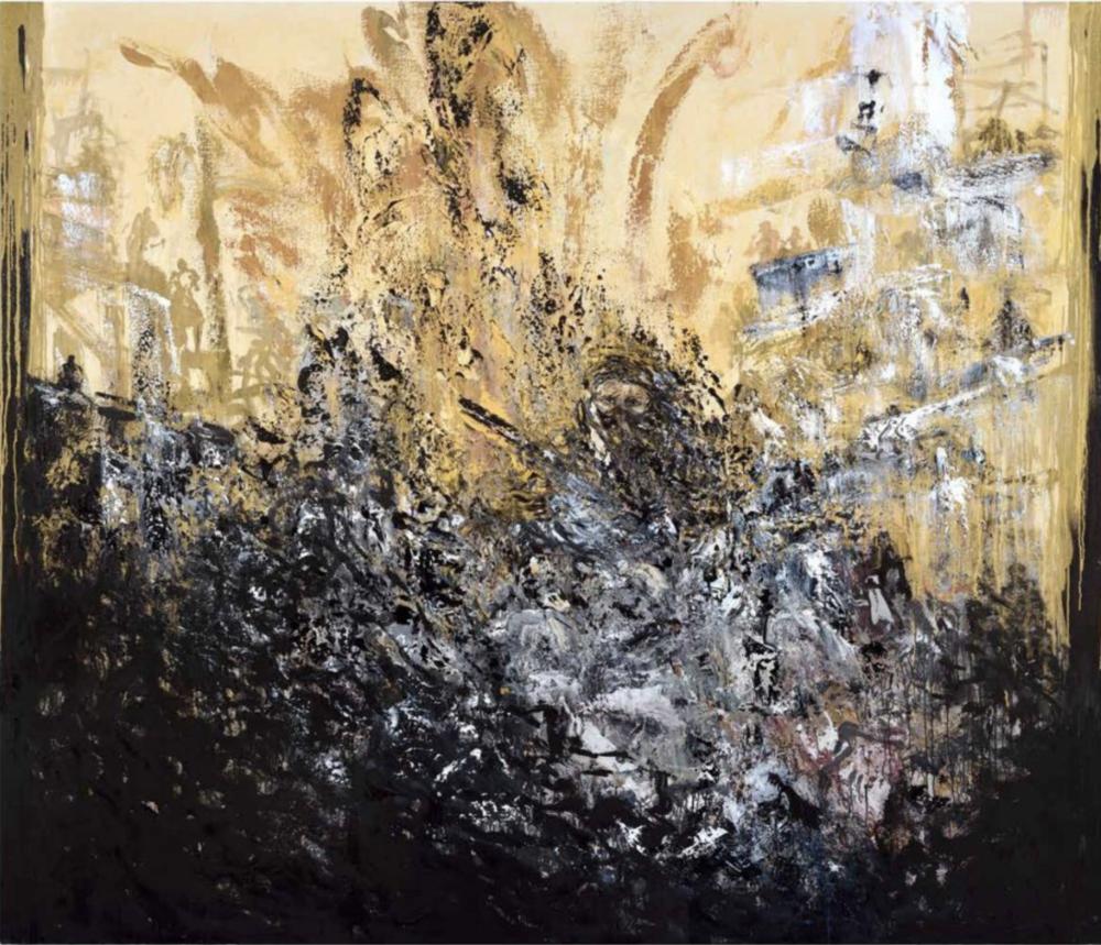 Aleppo II, Maggie Hambling, 2016