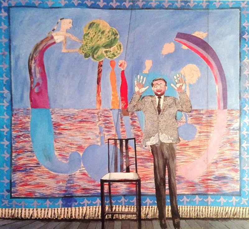 Play Within A Play, David Hockney