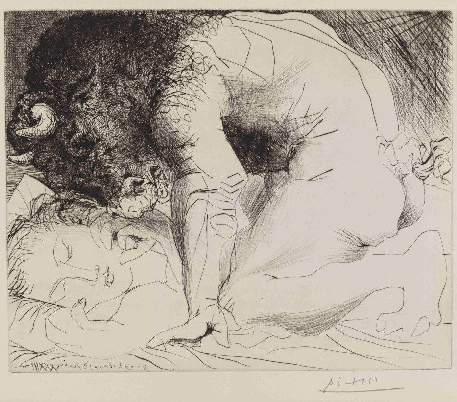 The Minotaur by Pablo Picasso